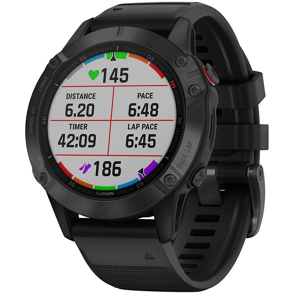 Reloj multideporte Garmin Fenix 6 Pro GPS - Negro, Negro