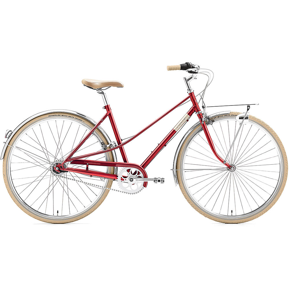 Image of Creme Caferacer Lady Solo Urban Bike 2020 - Rouge, Rouge