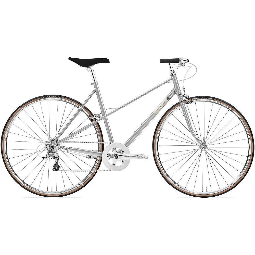 Creme Echo Mixte Uno Urban Bike 2020 - argentato