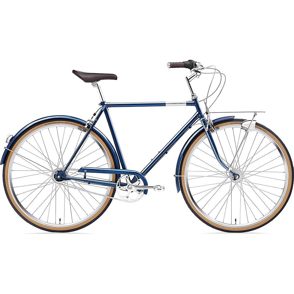 Image of Creme Caferacer Man Doppio Bike 2020 - Bleu nuit, Bleu nuit