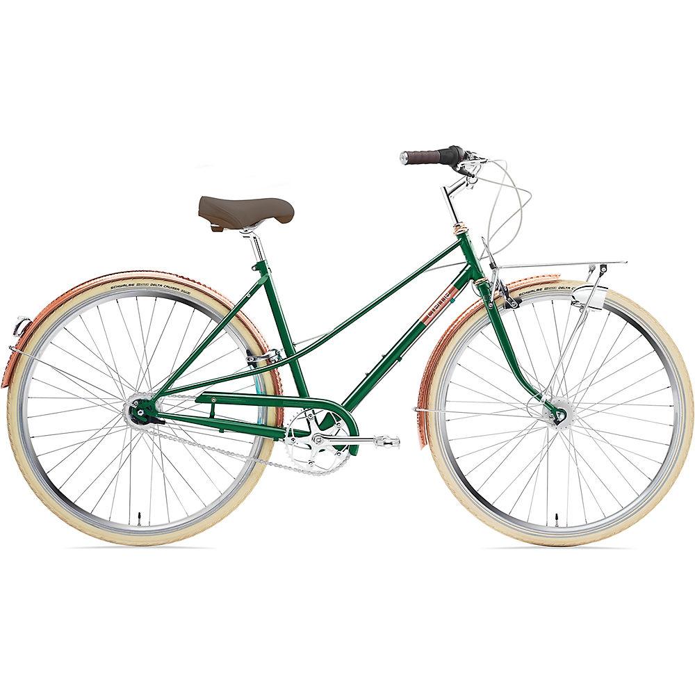 Image of Creme Caferacer Lady Doppio Bike 2020 - Sparkling Emerald, Sparkling Emerald
