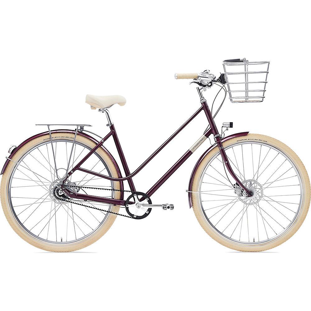 Creme Eve 8 Belt Drive Dynamo Urban Bike 2020 - bordeaux