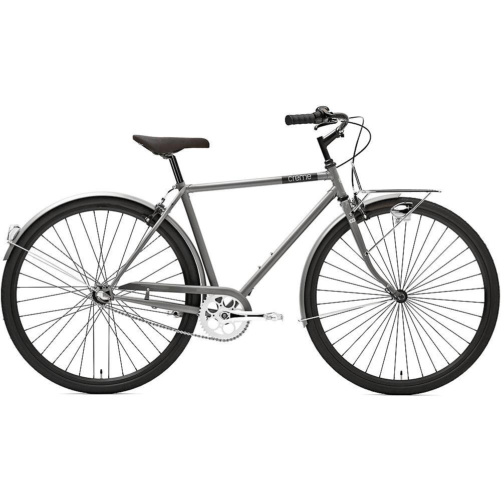 Image of Creme Caferacer Man Solo Urban Bike 2020 - Silver Matt, Silver Matt