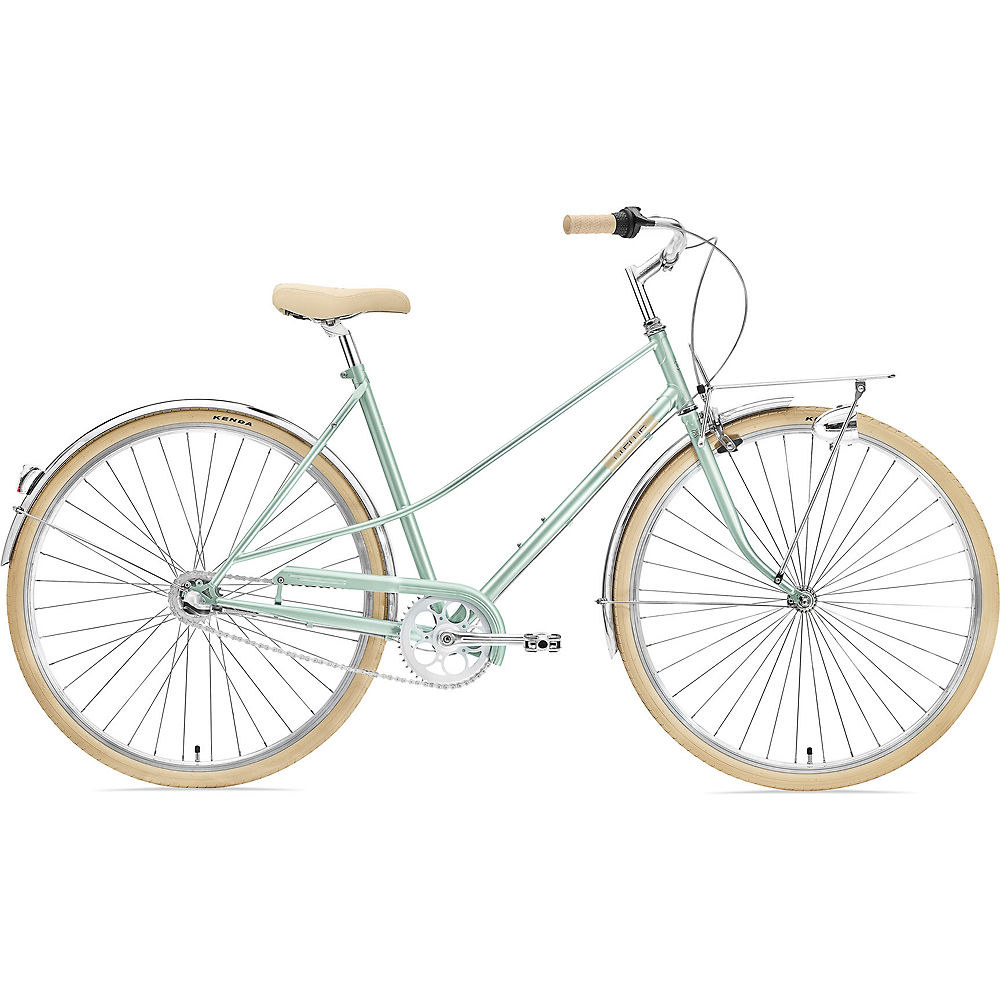 Creme Caferacer Lady Uno Urban Bike 2021 - Flordia Green - S, Flordia Green