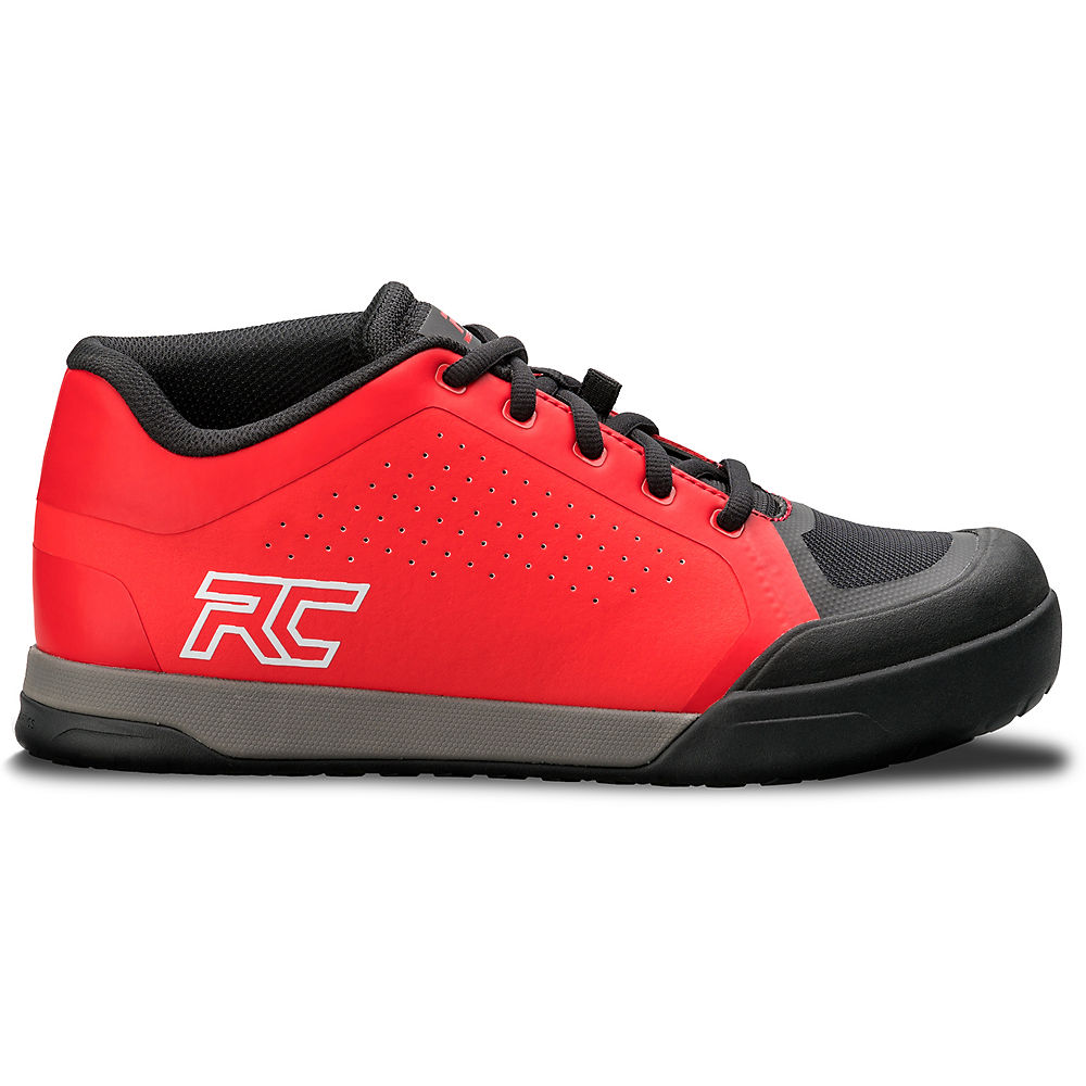 Ride Concepts Powerline Flat Pedal Mtb Shoes 2020 - Red-black - Uk 12  Red-black