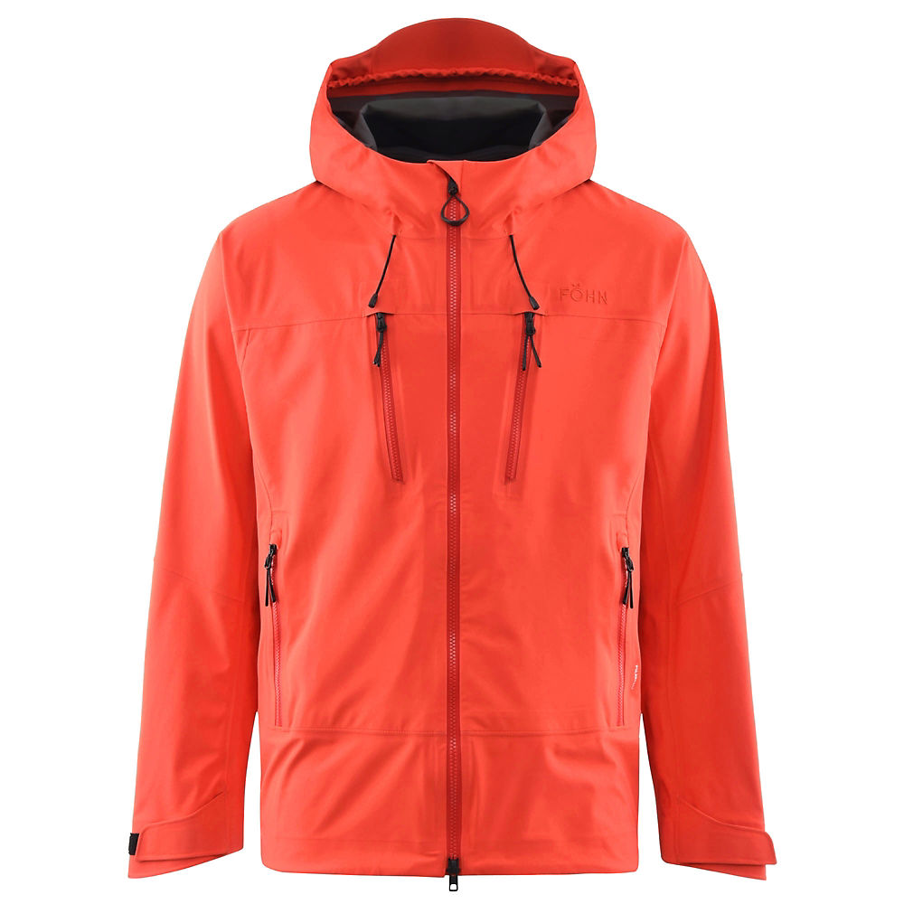 Click to view product details and reviews for Föhn Mountain Polartec Waterproof Jacket Red Orange S Red Orange.