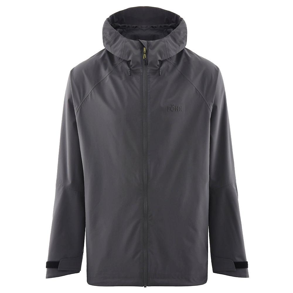 Föhn Stratus 2L Waterproof Jacket – Grey – M, Grey