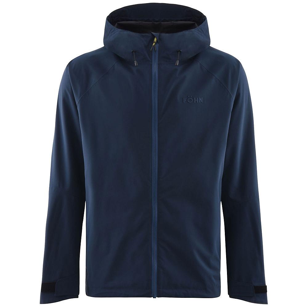 Föhn Stratus 2L Waterproof Jacket – Navy – M, Navy