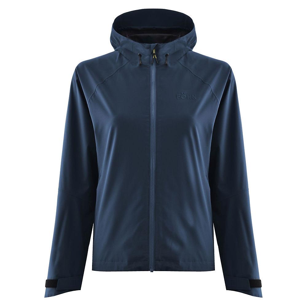 Föhn Women's Stratus 2L Waterproof Jacket – Navy – UK 10, Navy