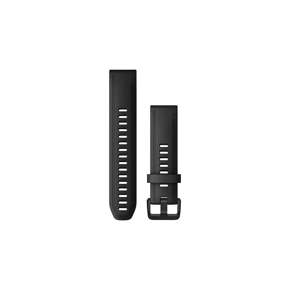 Garmin 20mm QuickFit Silicone Watch Band - Negro, Negro