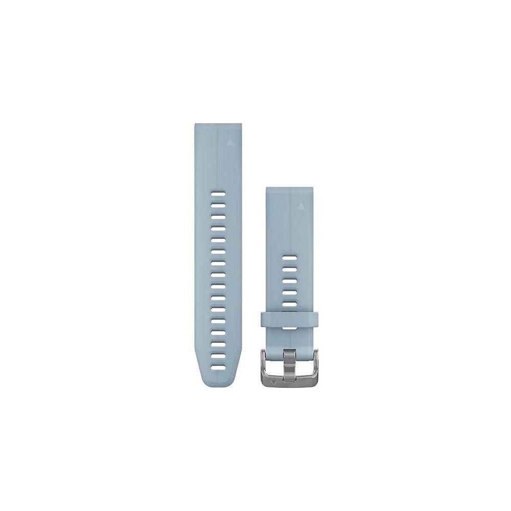Garmin 20mm QuickFit Silicone Watch Band - Seafoam Blue, Seafoam Blue