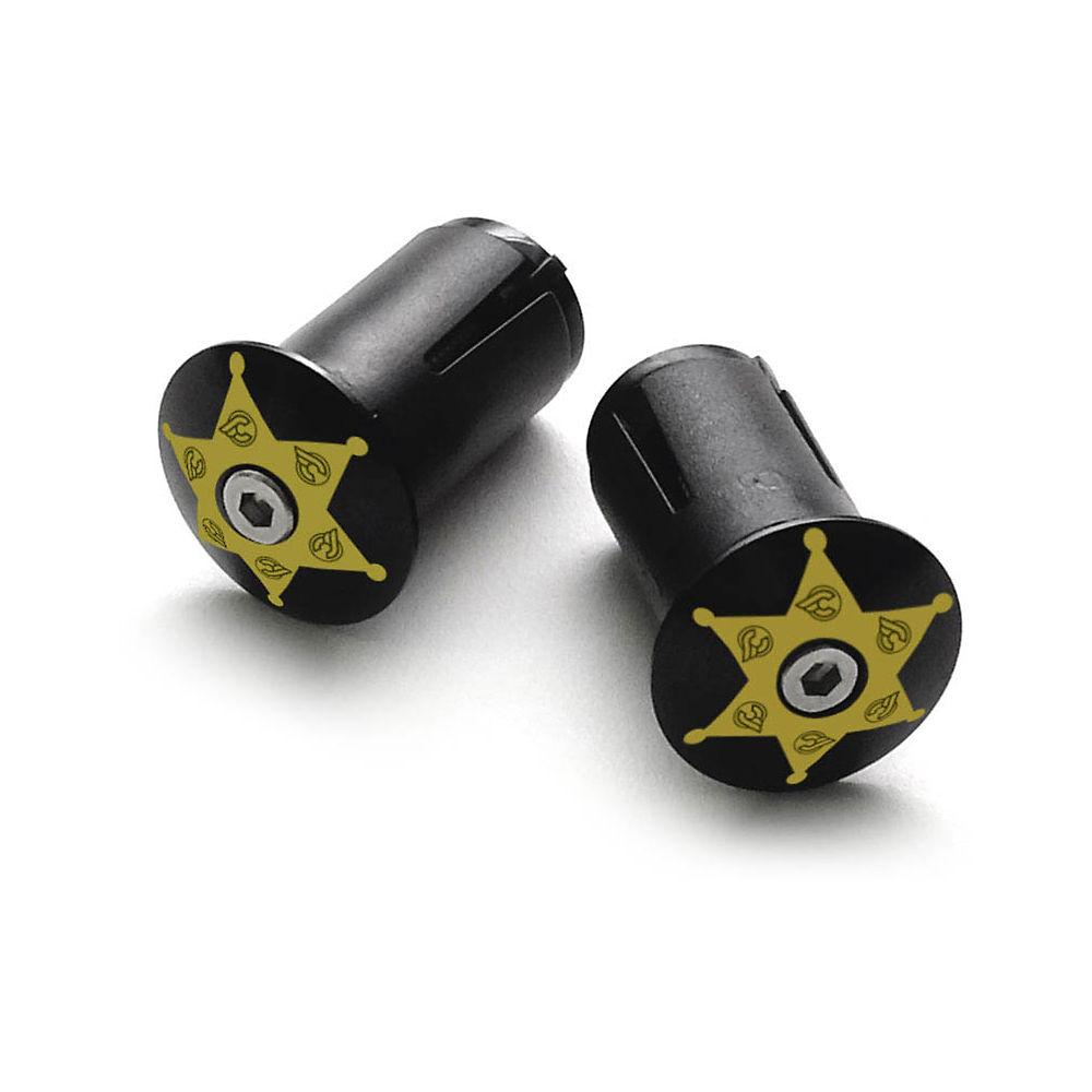 Image of Cinelli Anodised End Plugs - Sheriff, Sheriff