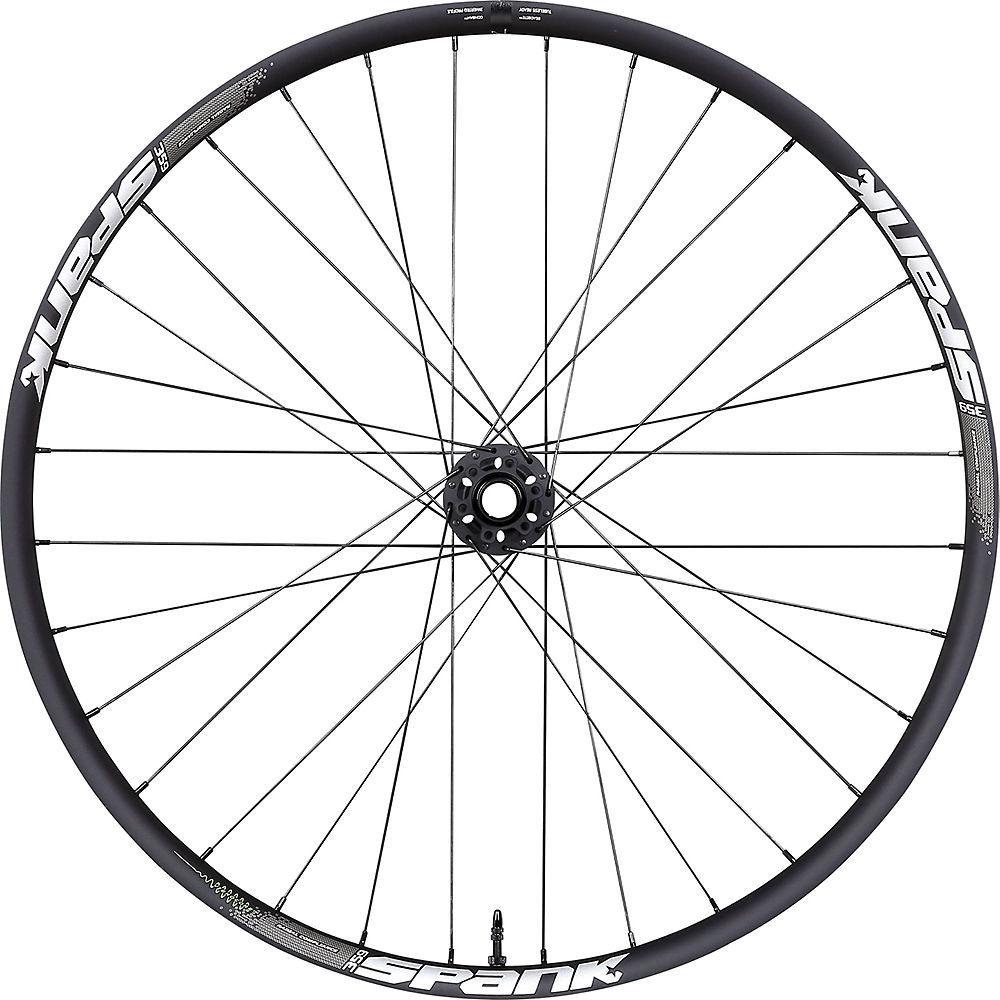 Spank SPANK 359 Vibrocore Boost Front Wheel - Black - 32H, Black
