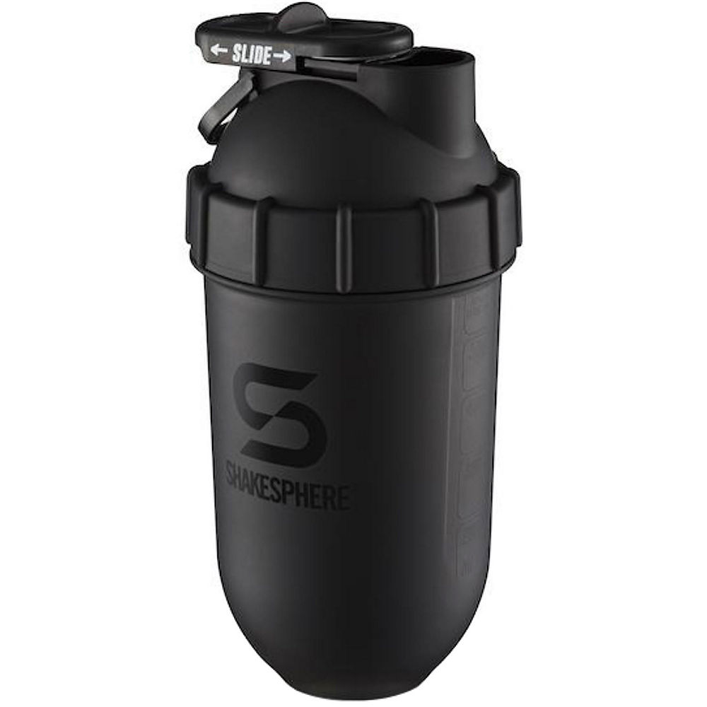 Image of ShakeSphere Shaker Bottle Matte Black - 700ml