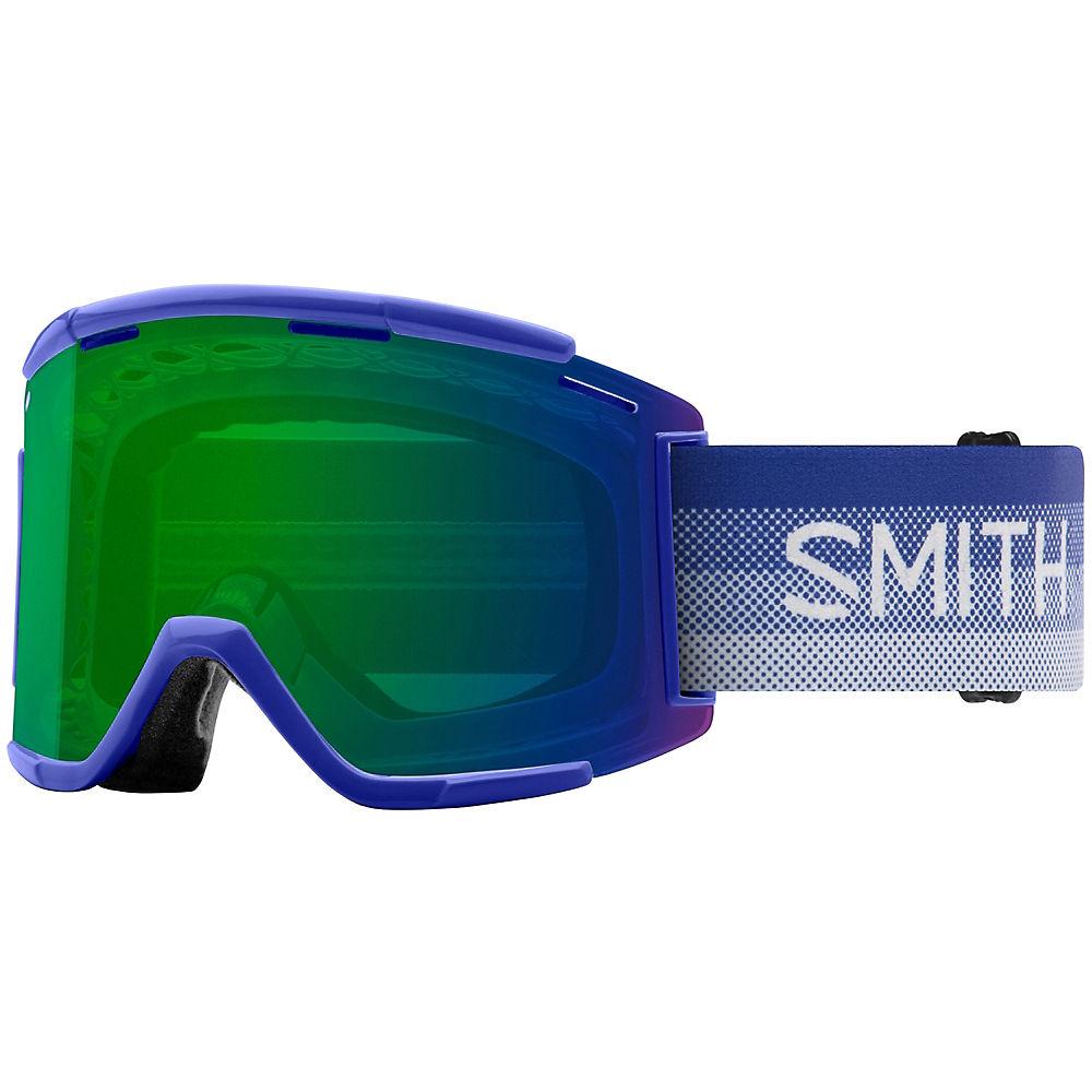 Smith Squad MTB XL Goggles Green Mirror Lens - Klein Fade, Klein Fade
