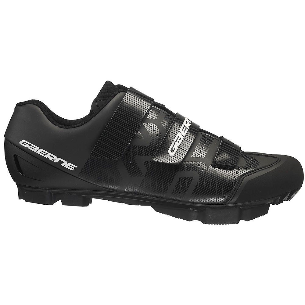 Gaerne Laser MTB SPD Shoes 2020 - Black - EU 45, Black