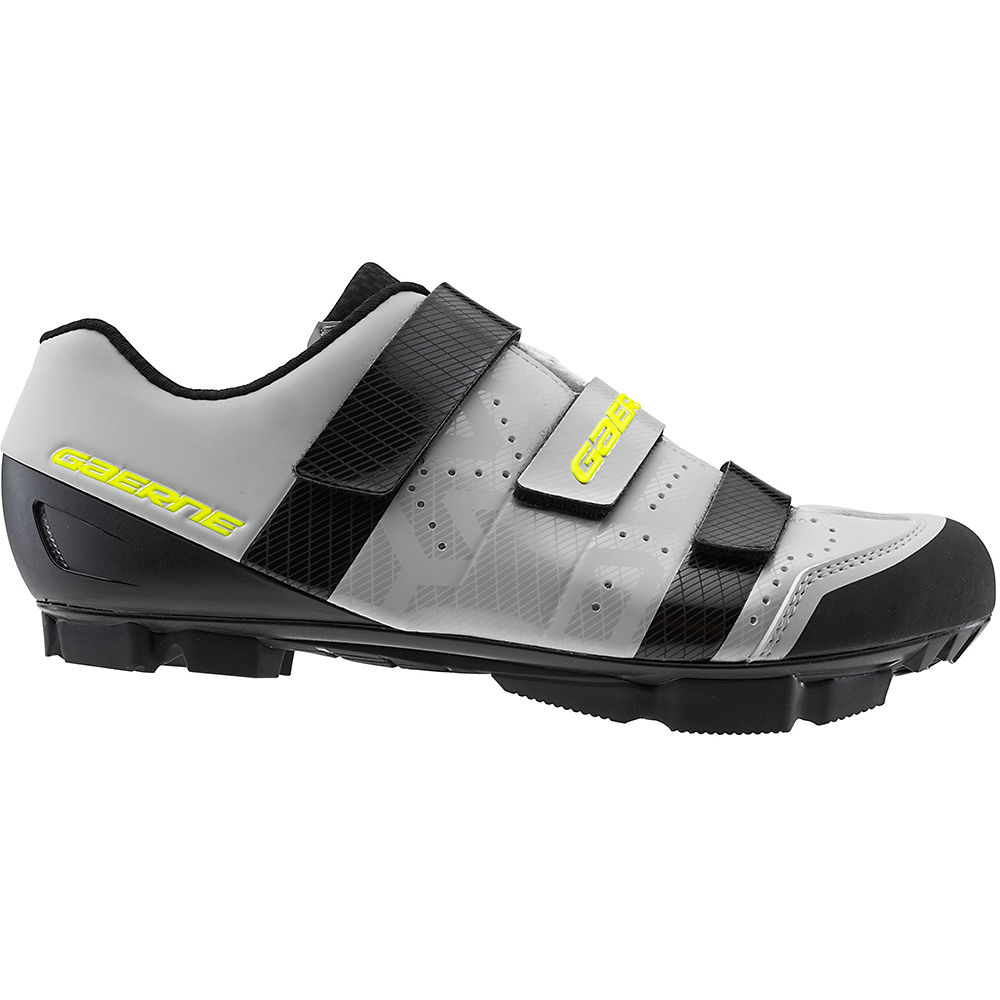Gaerne Laser MTB SPD Shoes 2020 - Matt Grey - EU 44, Matt Grey