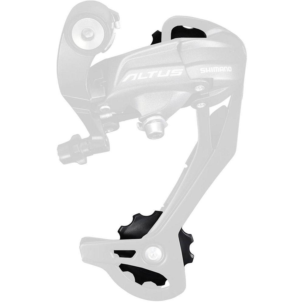 Shimano RD-M370 Altus 9 Speed Jockey Wheels - Black, Black
