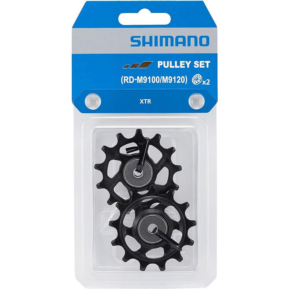 Shimano RD-M9100 XTR 11 Speed Jockey Wheels - Black, Black