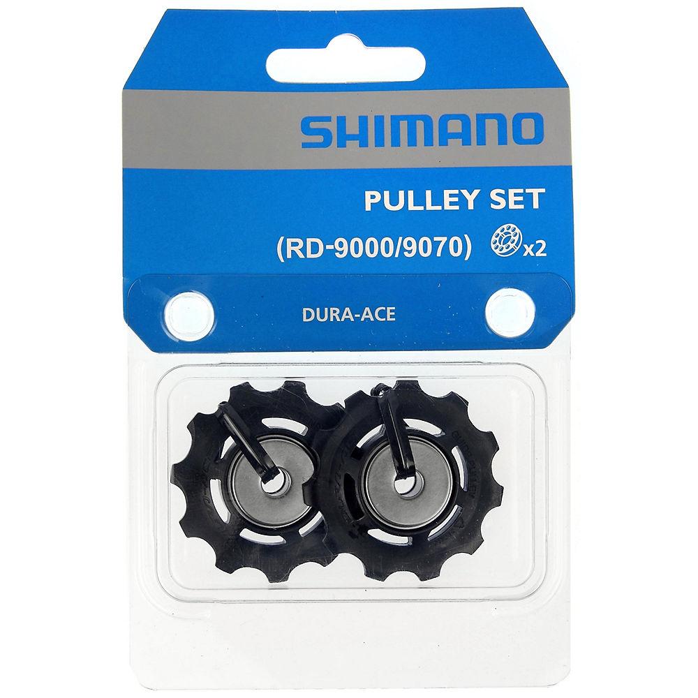 Shimano RD-9070 Dura Ace Di2 Jockey Wheels - Black, Black
