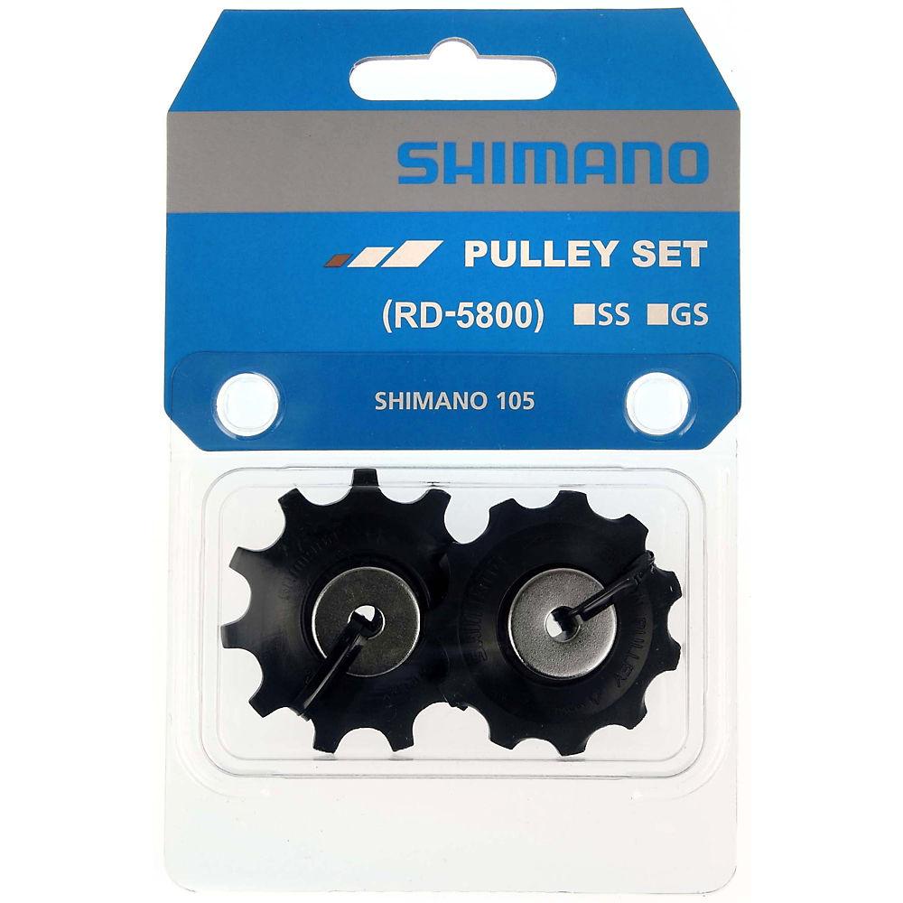 Shimano RD-5800 105 11 Speed Jockey Wheels - Black - Medium Cage, Black