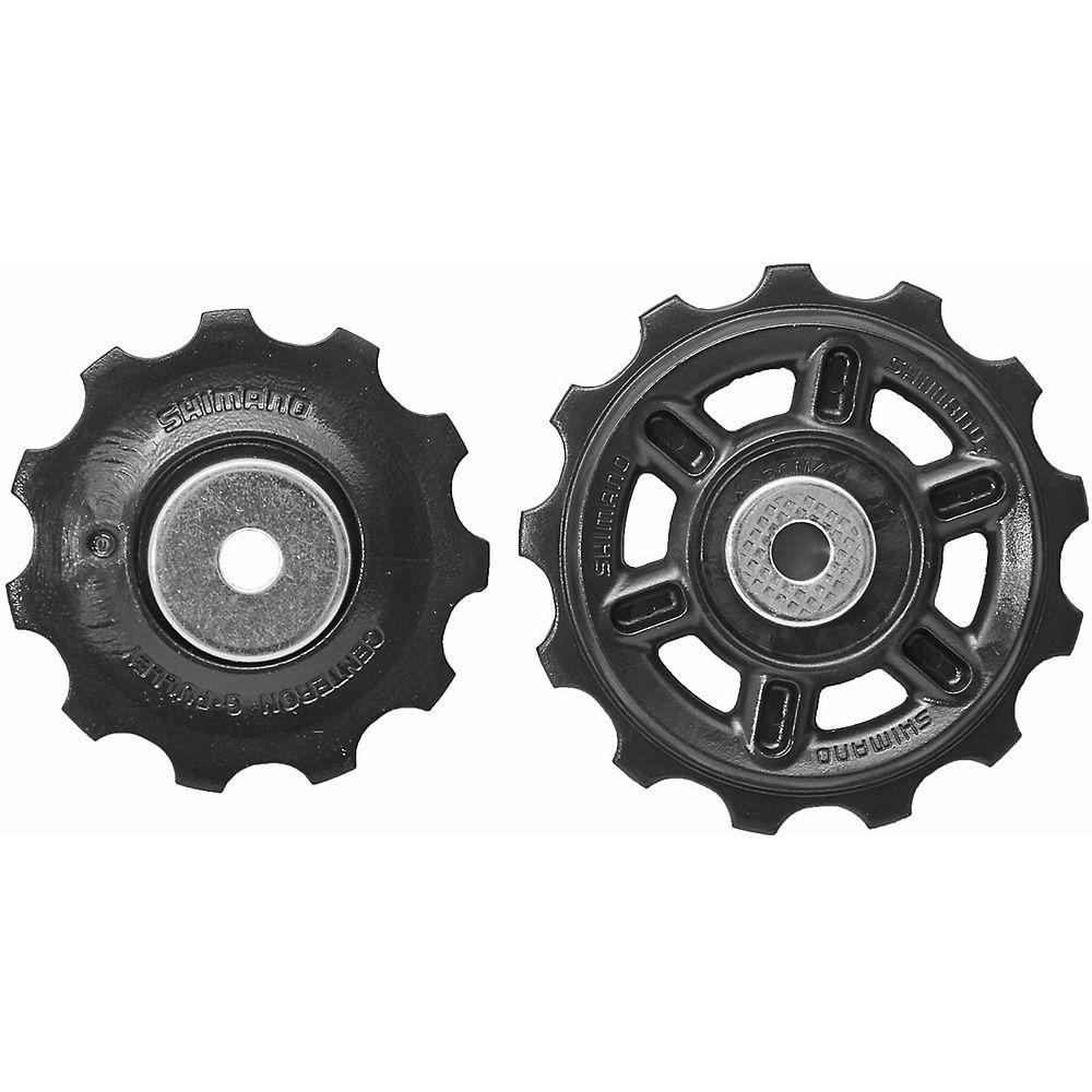 Shimano Rd-2300 8 Speed Jockey Wheels - Black  Black