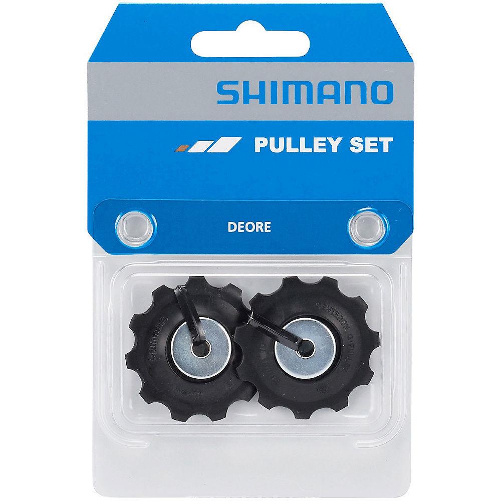 Shimano RD-T6000 Deore 10 Speed Jockey Wheels - Black, Black