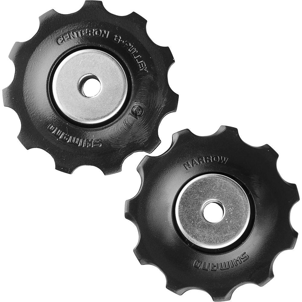 Shimano RD-M430 Alivio 9 Speed Jockey Wheels - Black, Black