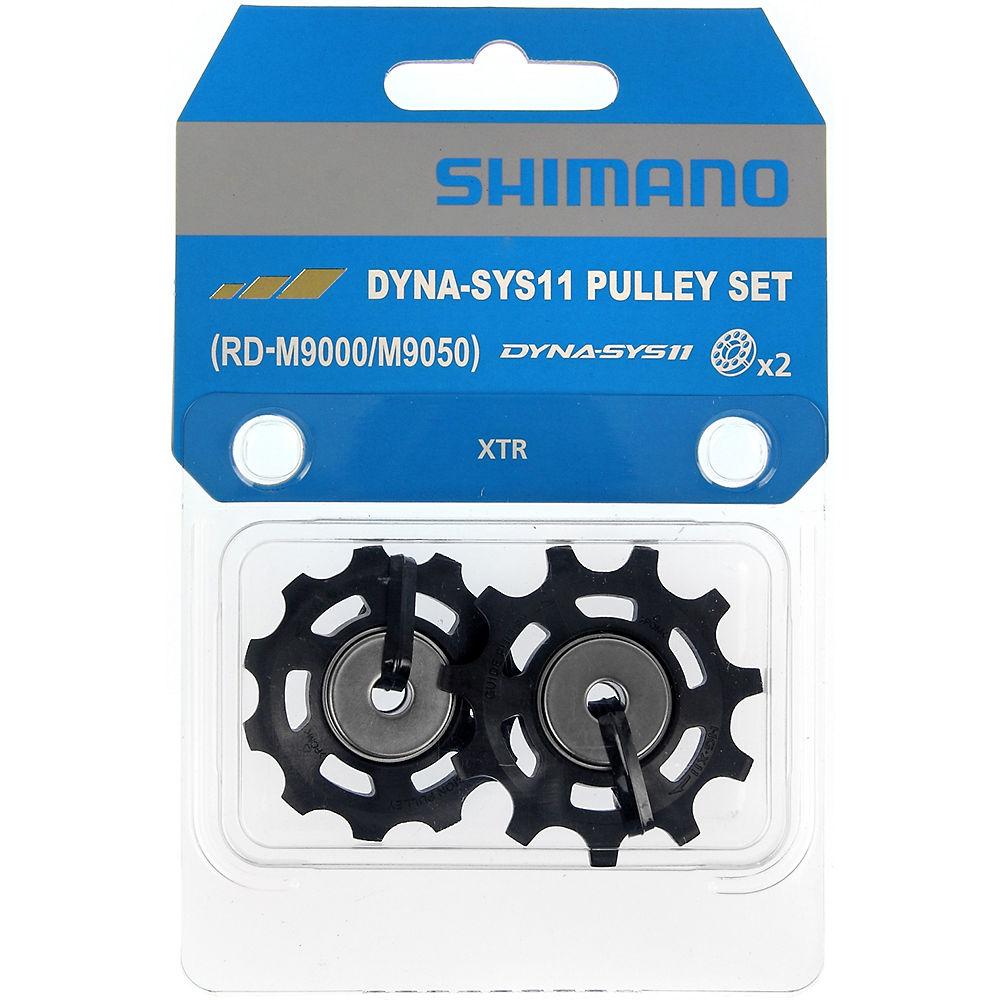 Shimano RD-M9000 XTR 11 Speed Jockey Wheels - Black, Black