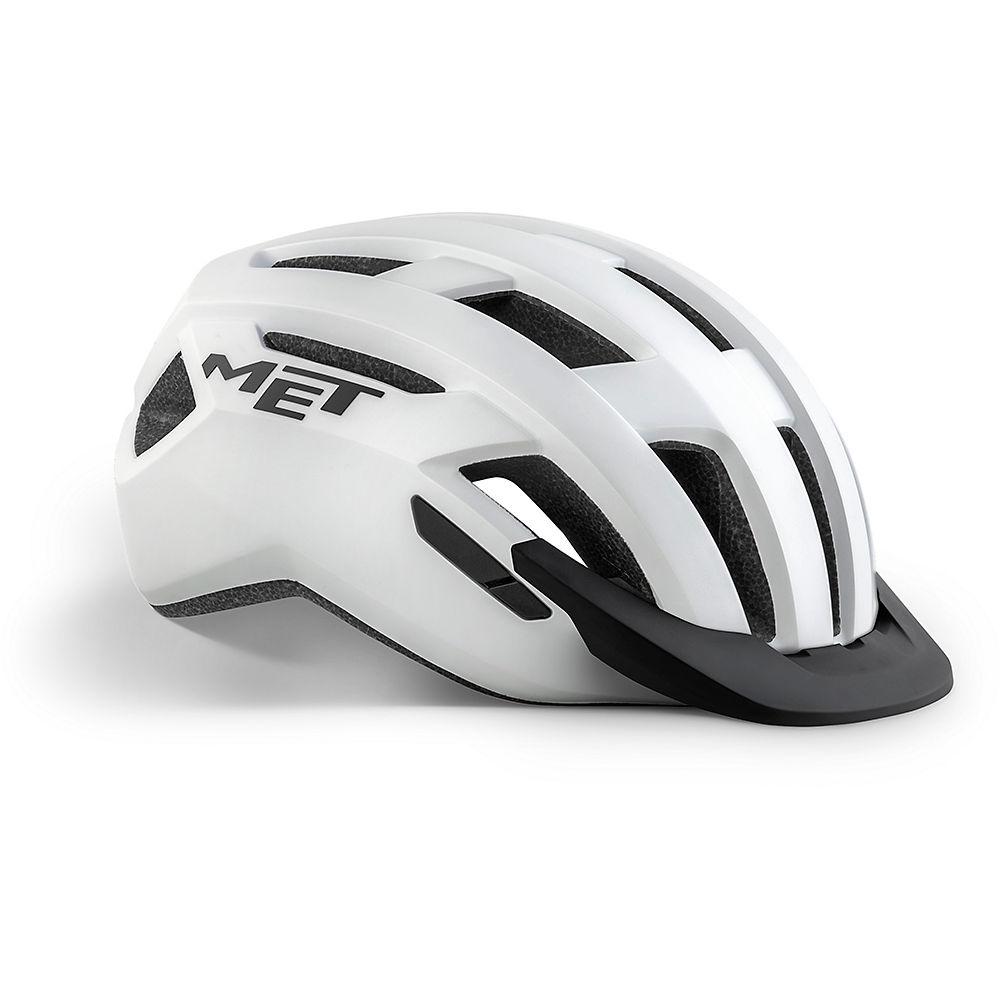 Met Allroad Helmet 2020 - White  White