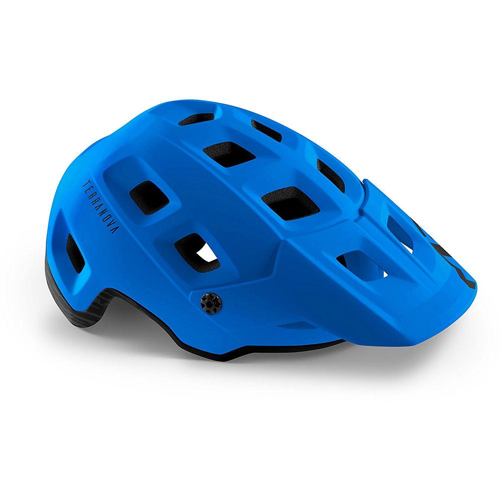 MET Terranova MTB Helmet 2020 - Nautical Blue-Matte, Nautical Blue-Matte