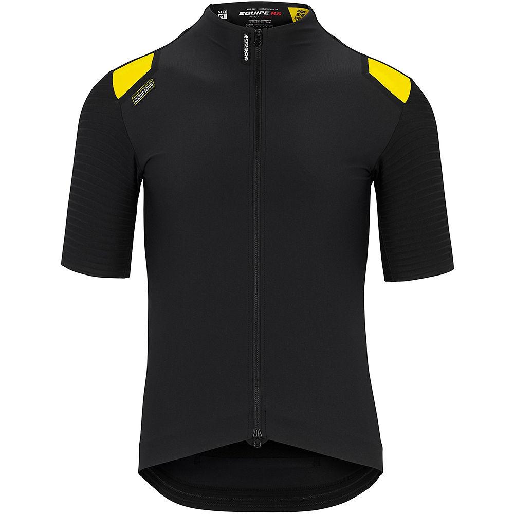 Assos Equipe Rs Spring Fall Aero Ss Jersey - Black Series  Black Series