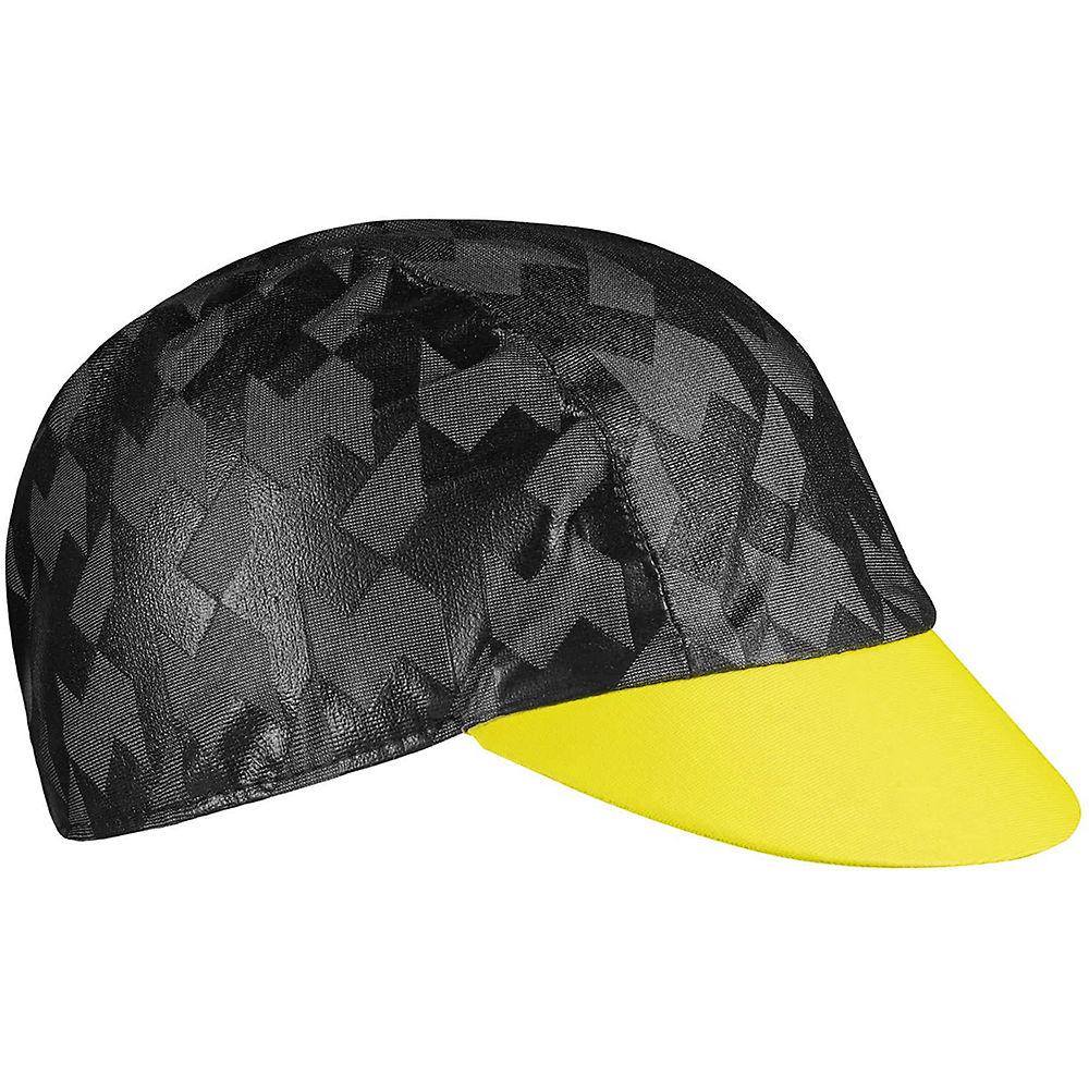 Assos Equipe RS Rain Cap  - Amarillo fluorescente - S/M, Amarillo fluorescente