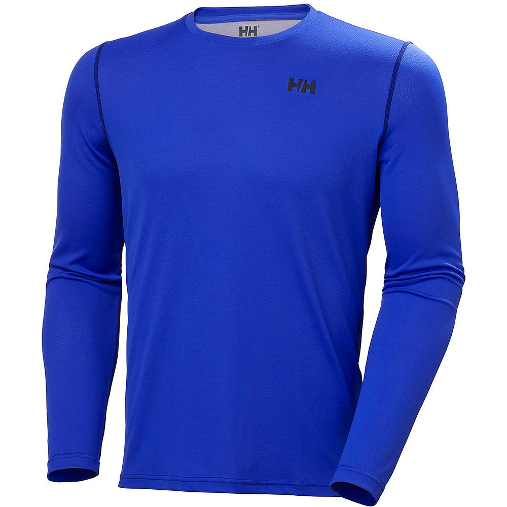 helly hansen lifa active solen long sleeve base layer  - xxl - royal blue