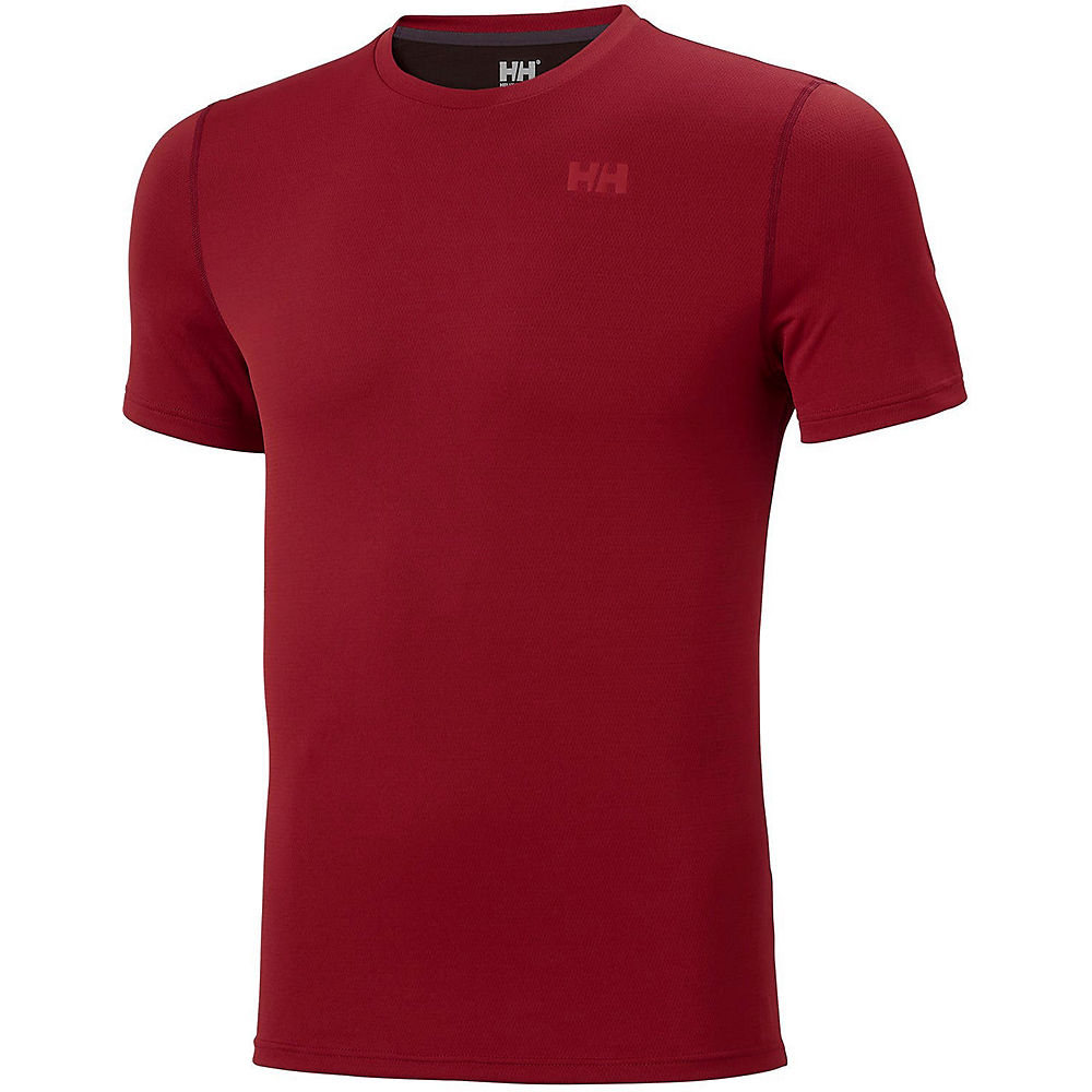helly hansen lifa active solen base layer  - xxl - oxblood