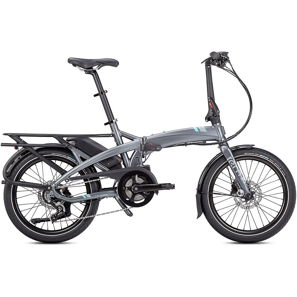 Tern Vektron P7i Folding E-Bike 2020 – Gunmetal – 20″, Gunmetal