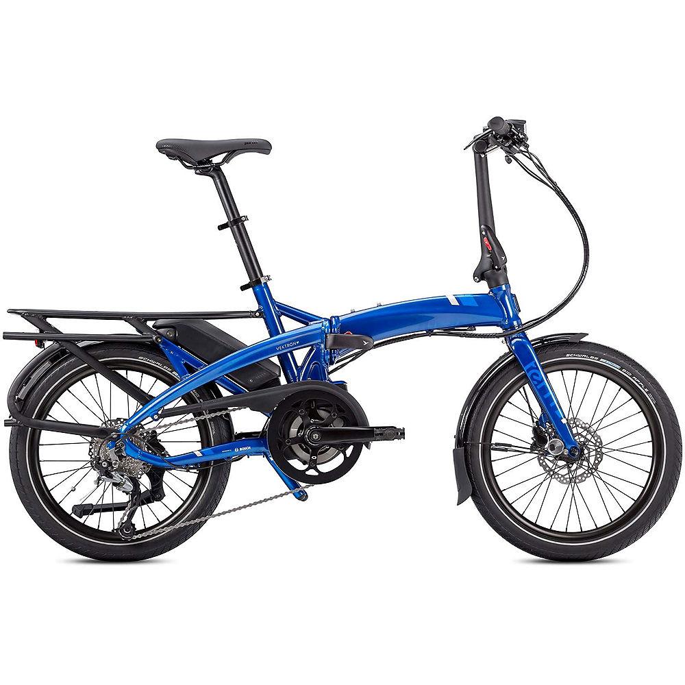 Tern Vektron Q9 Folding E-Bike 2020 – Blue – 20″, Blue