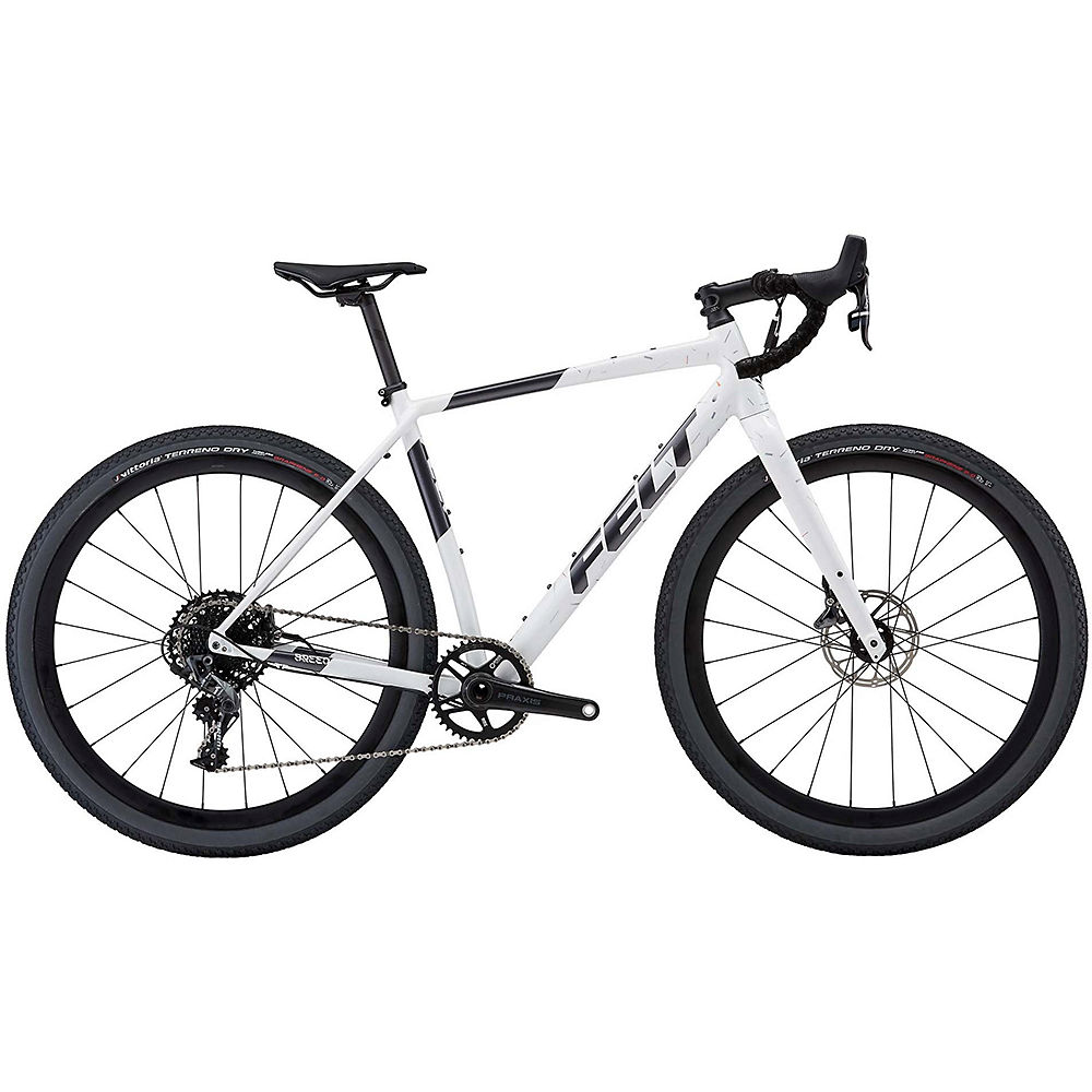 "Image of Felt Breed 20 Adventure Road Bike 2020 - White Chaff - Charcoal - 51.5cm (20.25""), White Chaff - Charcoal"