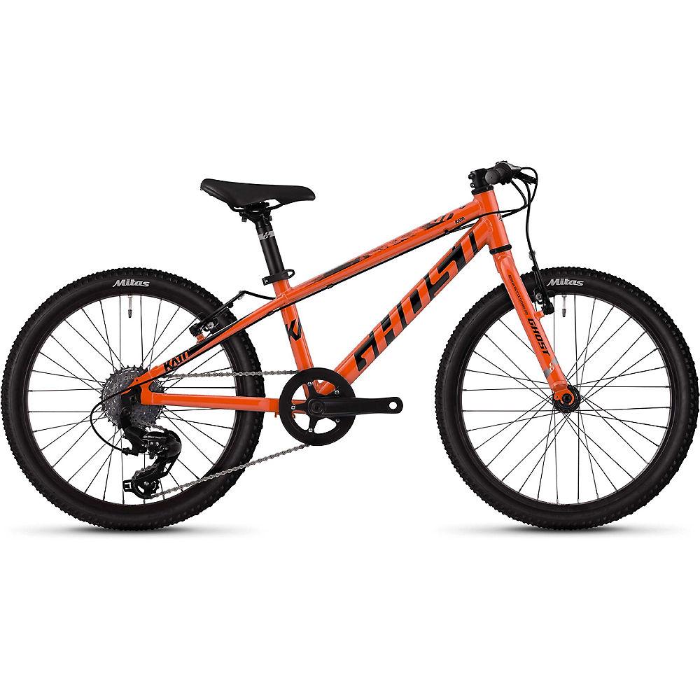 Ghost Kato 1.0 Kids Bike 2020 - Naranja - Negro - 20