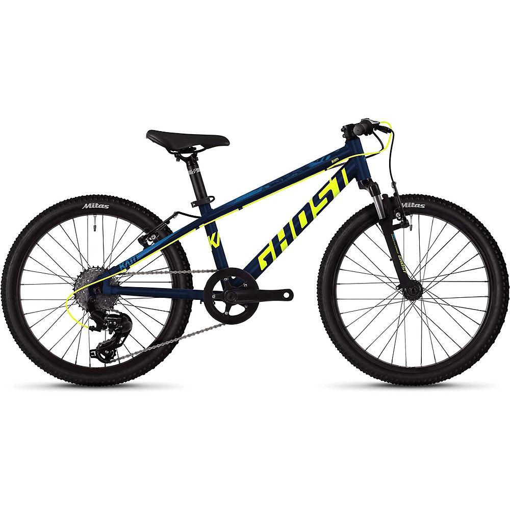 Ghost Kato 2.0 Kids Bike 2020 – Blue – Yellow – 20″, Blue – Yellow