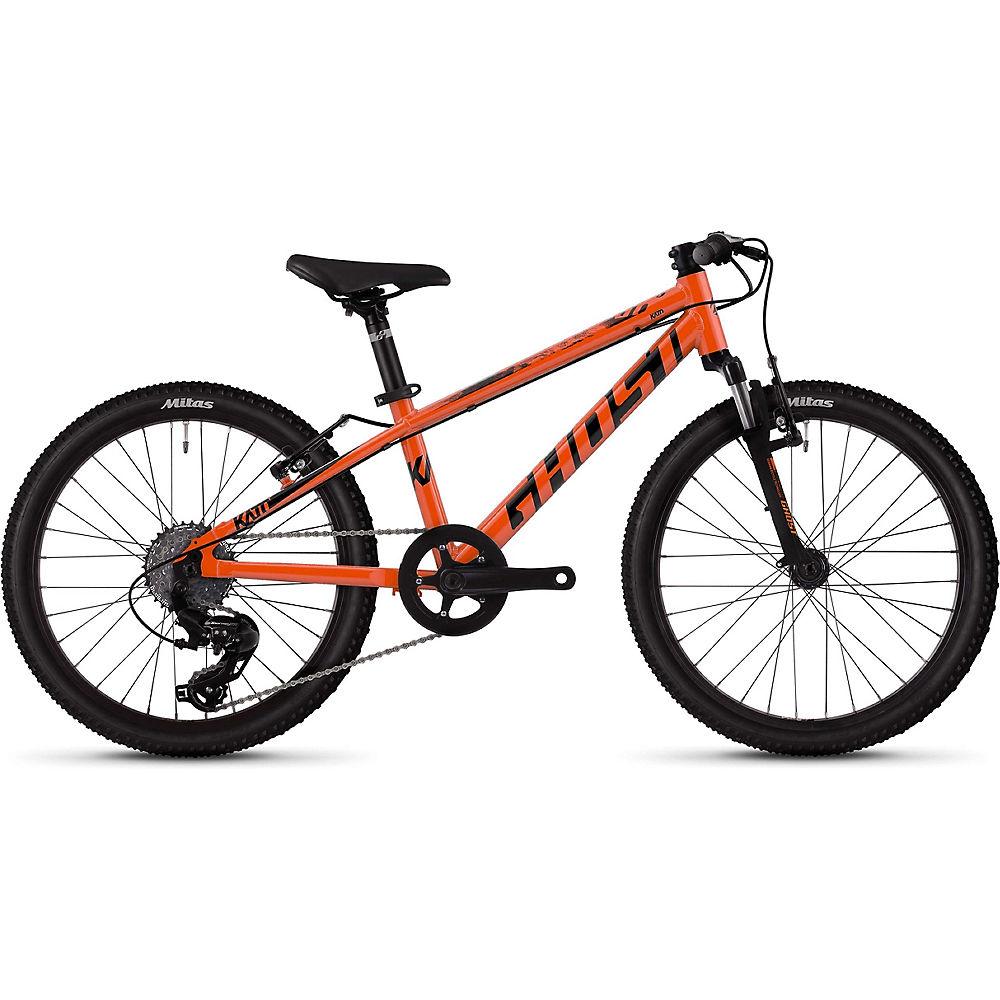 Ghost Kato 2.0 Kids Bike 2020 – Orange – Black – 20″, Orange – Black