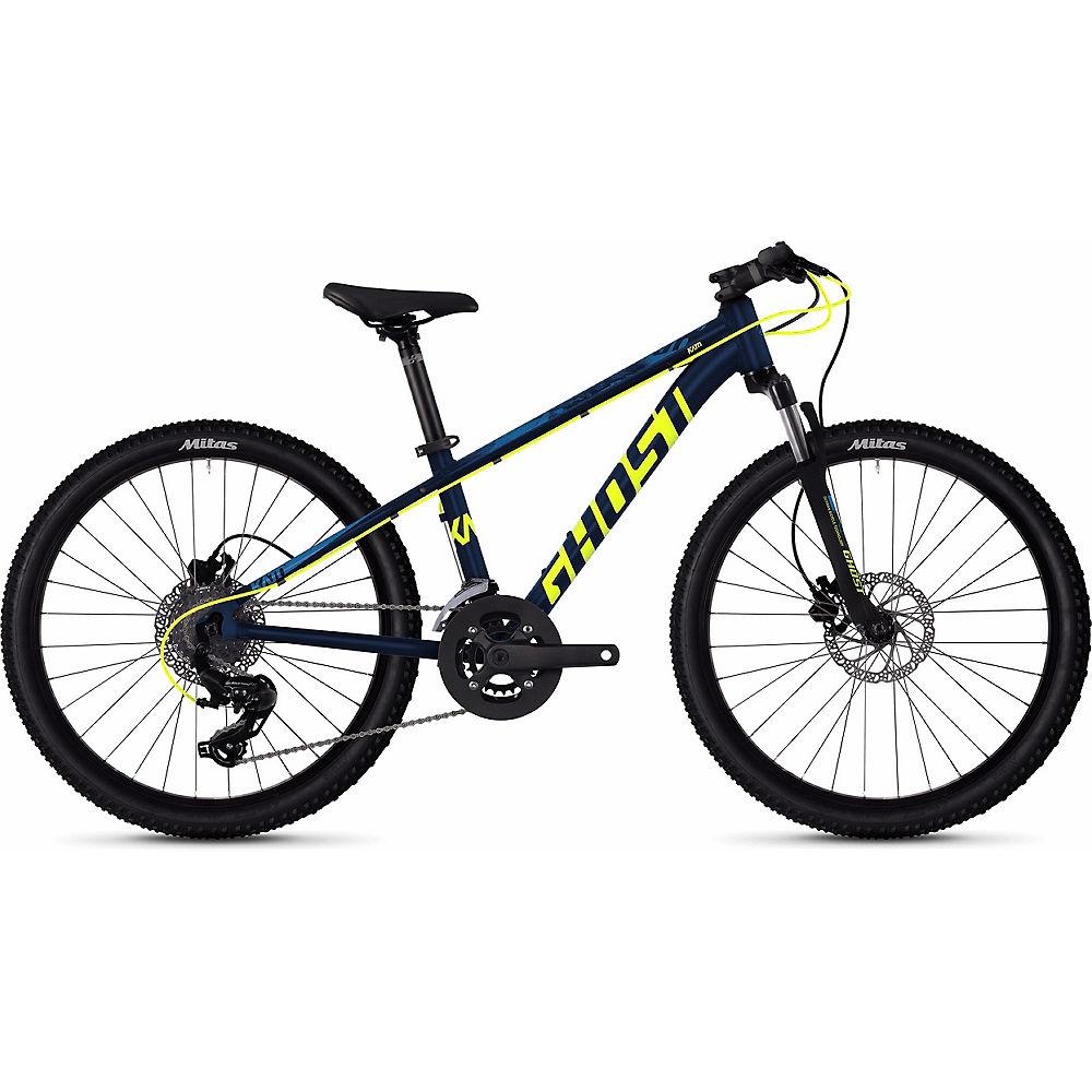 Ghost Kato D4.4 Kids Bike 2020 - Azul - Amarillo - 24