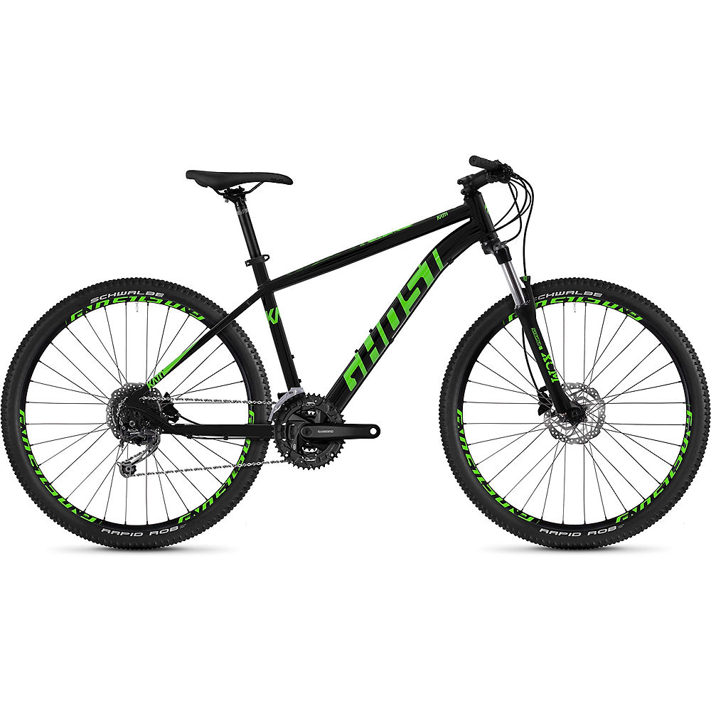 Ghost Kato 4.7 Hardtail Bike 2020 - nero - verde lime - XS