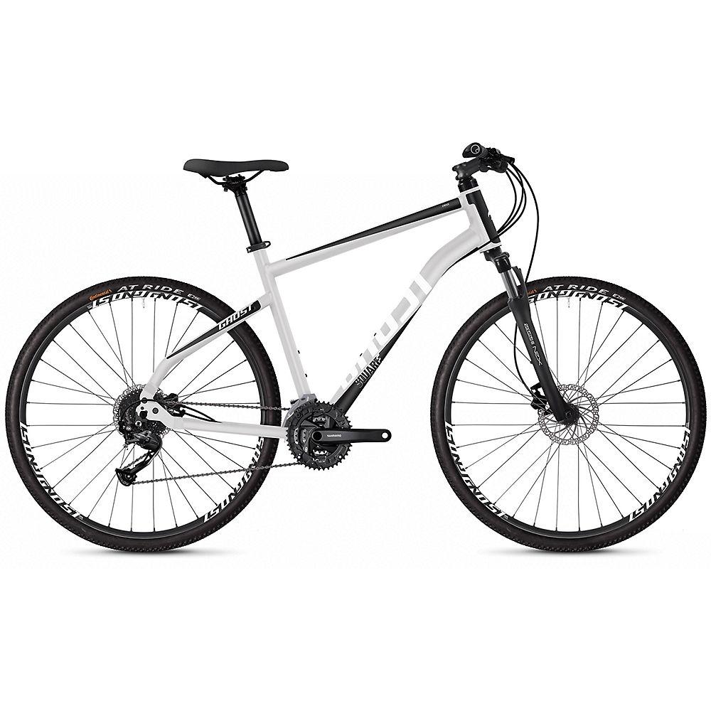 Ghost Square Cross 1.8 Urban Bike 2020 - argentato - nero - XL