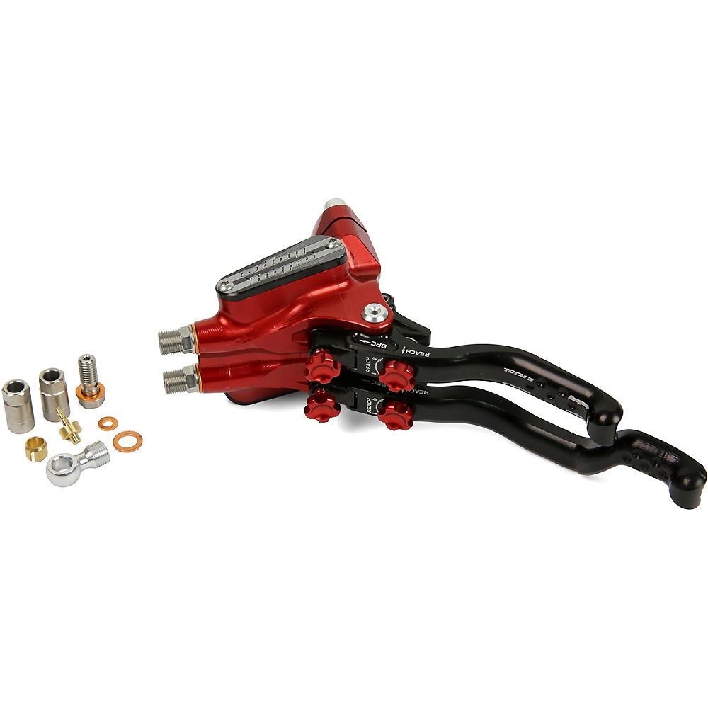 Hope DUO Disc Brake Master Cylinder Complete – Red – Right Hand, Red