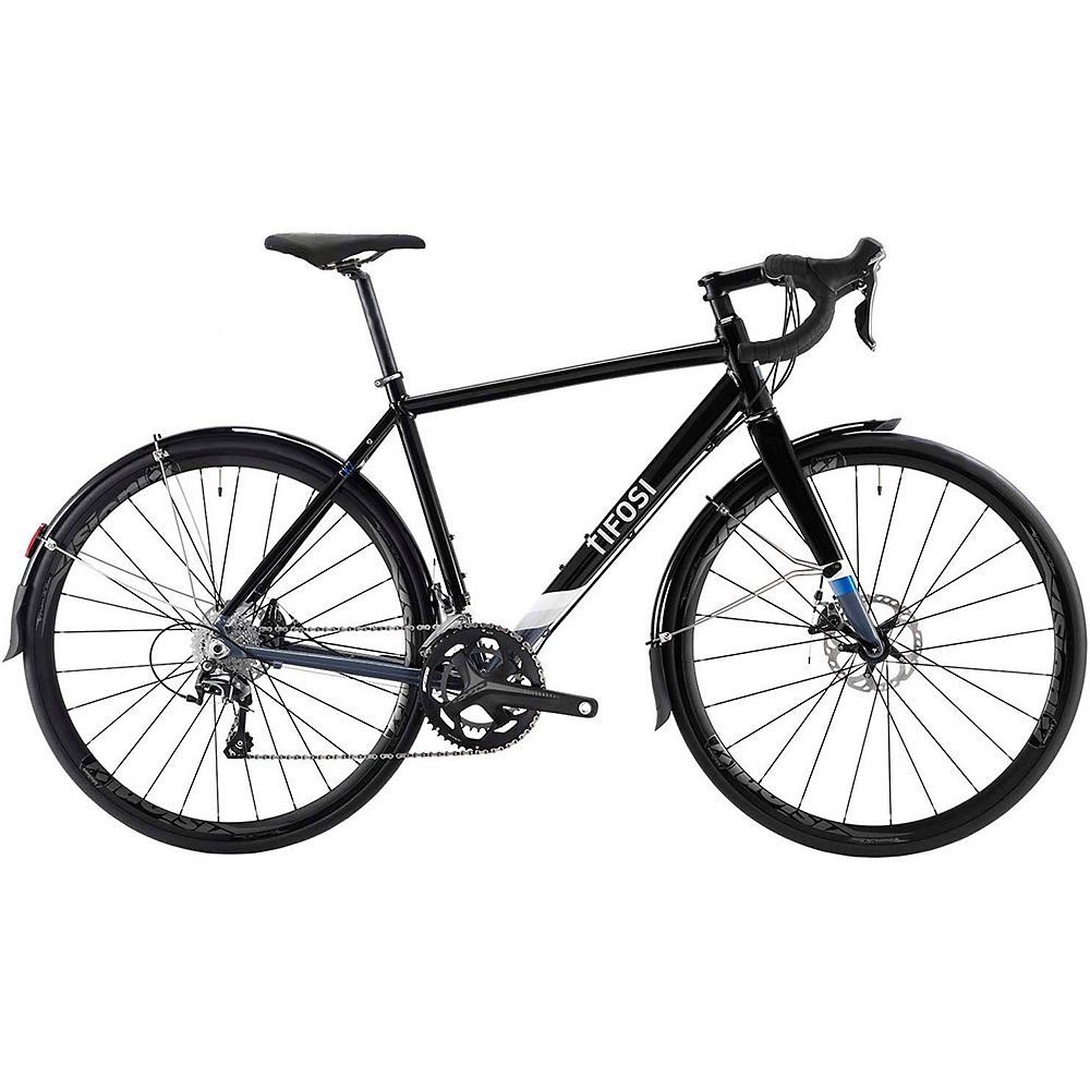 Image of Tifosi CK7 Disc Tiagra Road Bike 2020 - Noir, Noir