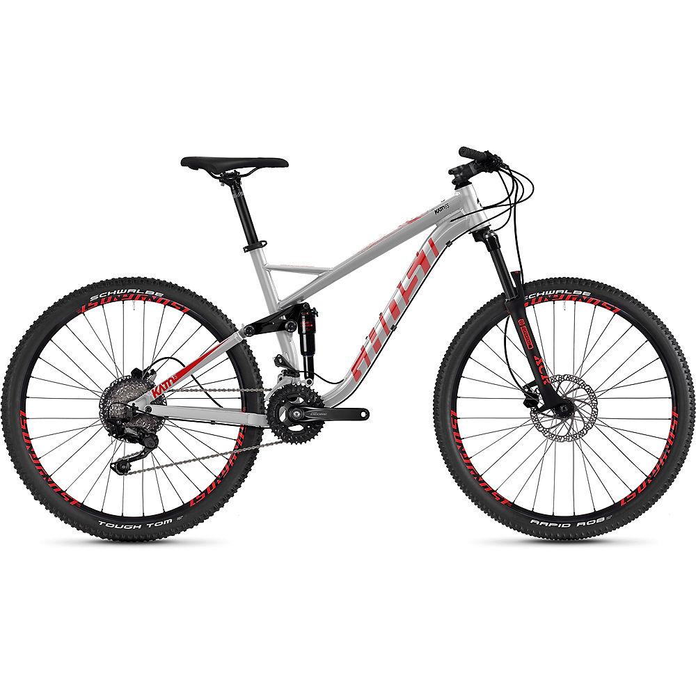 Ghost Kato FS 2.7 Bike 2020 - argento - rosso - L