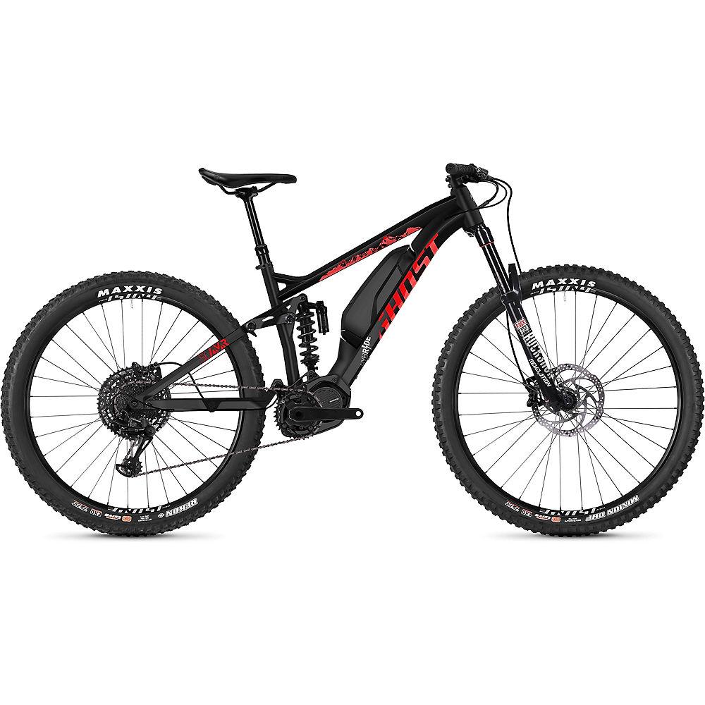 Image of Ghost Hybride SL AMR S2.7+ E-Bike 2020 - Noir - Rouge, Noir - Rouge