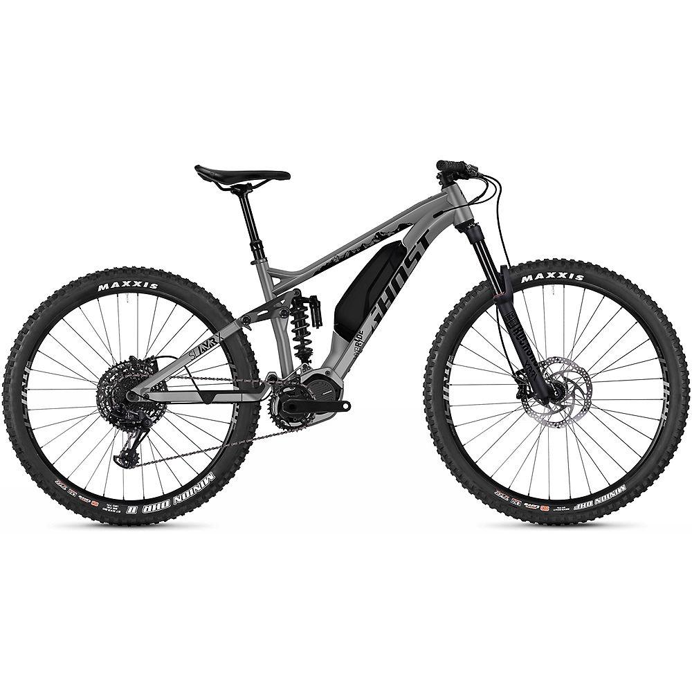 Image of Ghost Hybride SL AMR X S3.7+ E-Bike 2020 - Gris - Noir, Gris - Noir