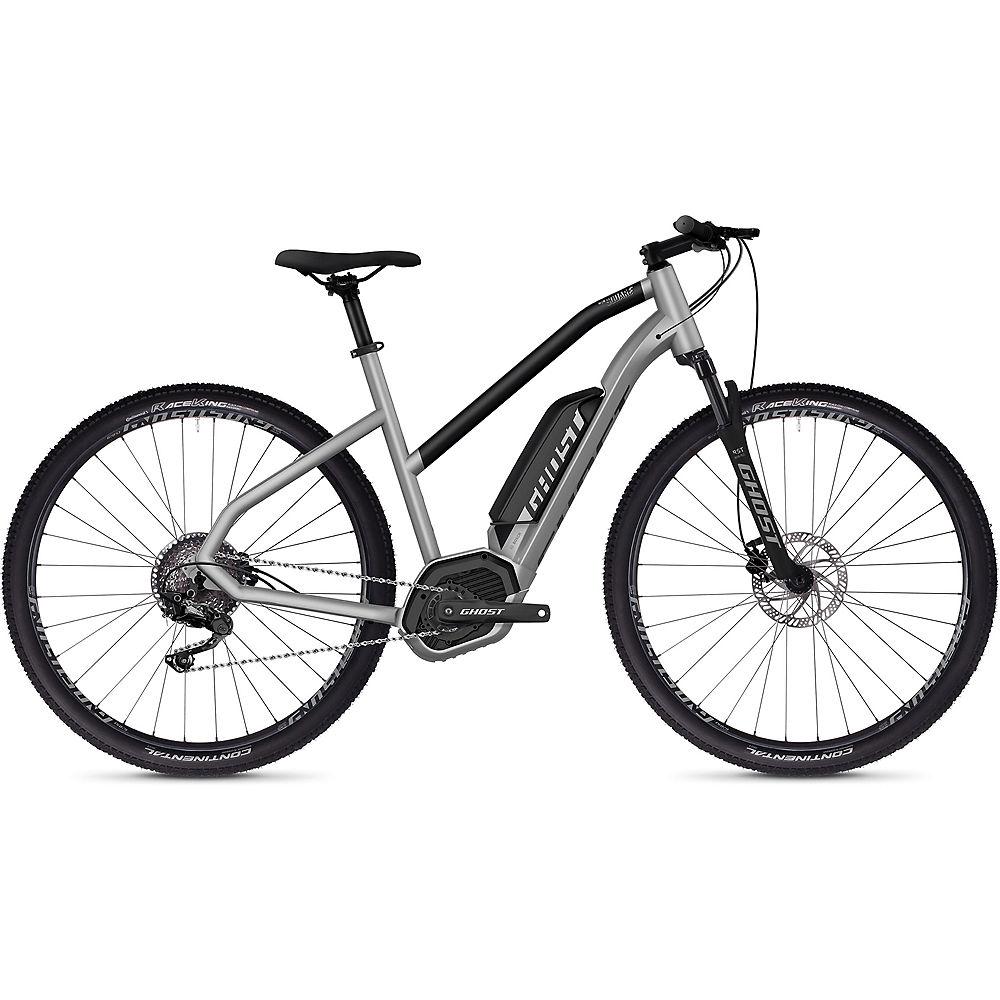 Ghost Hybride Square Cross B2.9 Women's E-Bike 2020 - argentato - nero